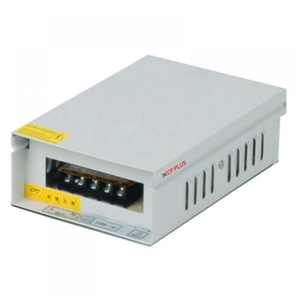CP PLUS 4CH SMPS POWER SUPPLY 12V 5Amp CP-DPS-MD50-12D