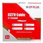 CP PLUS 3+1 CCTV CABLE 90M