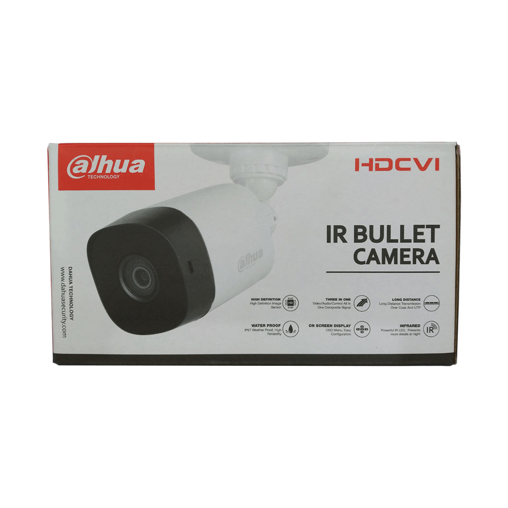 DAHUA 2MP BULLET CAMERA DH-HAC-B1A21P