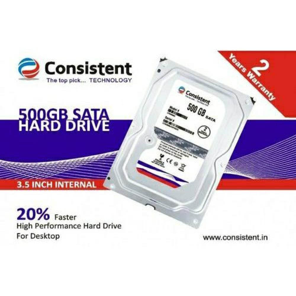 CONSISTENT 500GB SURVEILLANCE HARD DISK DRIVE