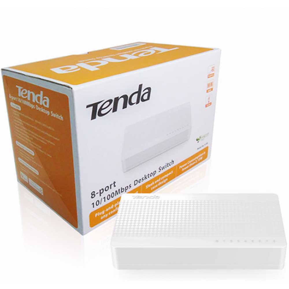 TENDA 8-PORT 10/100Mbps ETHERNET Switch S108